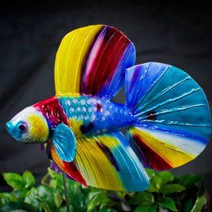 betta fish sculpture