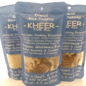 3 bags of Kheer Indian rice pudding, from Kitchari4all